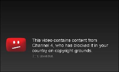 channel 4 blocked